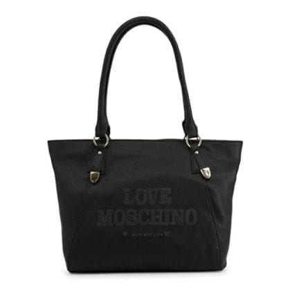 Love Moschino - JC4285PP08KN - Beautiful Black Shopping Bag for all Occasions 1