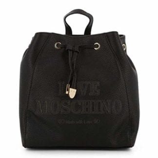 Love Moschino - JC4289PP08KN - Black Backpack Beautiful Design 7