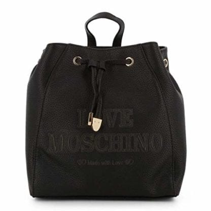 Love Moschino - JC4289PP08KN - Black Backpack Beautiful Design 1