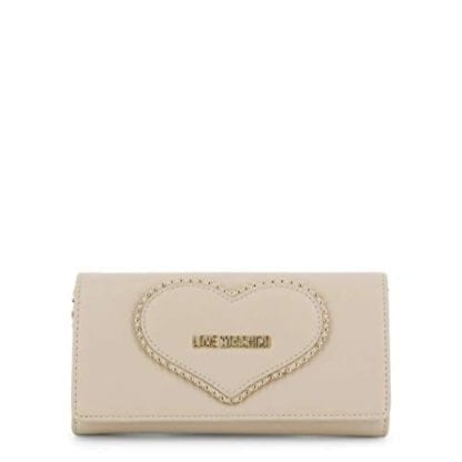 Love Moschino - JC5640PP08KG - the White Clutch Bag that has Chosen You 1