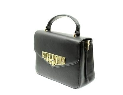 Love Moschino - JC4050PP18LF - One of the Most Beautiful Black Top-Handle Bags out there 2
