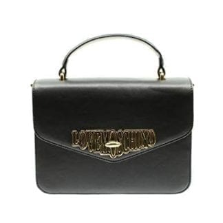 Love Moschino - JC4050PP18LF - One of the Most Beautiful Black Top-Handle Bags out there 11