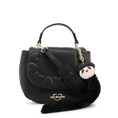 Love Moschino - JC4083PP18LO - The Black Top-Handle Bag that is all about Style 4