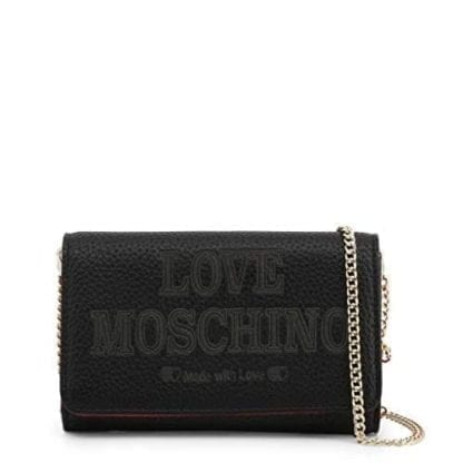 Love Moschino - JC5646PP08KN - the Grey Clutch Bag Made with Love 5