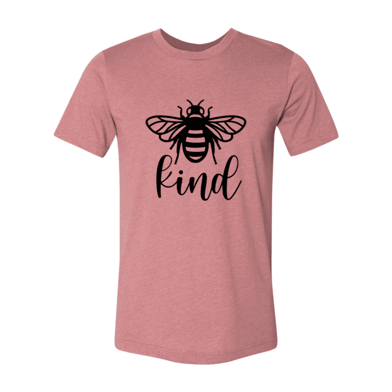 Word of the Day Bee Kind T-Shirt 8