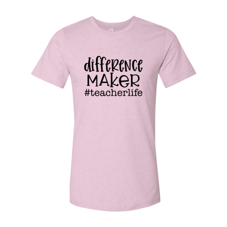 Teacher's Difference Maker T-Shirt