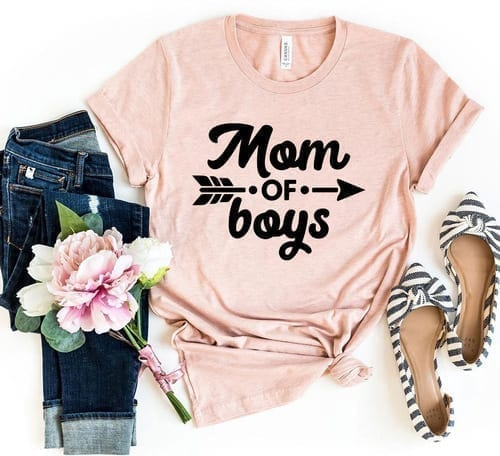 Yes a Must Own Mom Of Boys T-Shirt 1