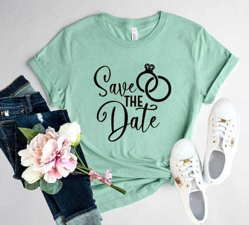 A Must Do - Save The Date T-Shirt 1