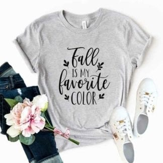 Beautiful Fall is My favorite Color T-Shirt 4