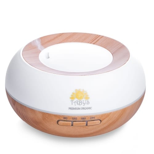 Essential Oil Diffuser with 30ml Lavender Sample 2