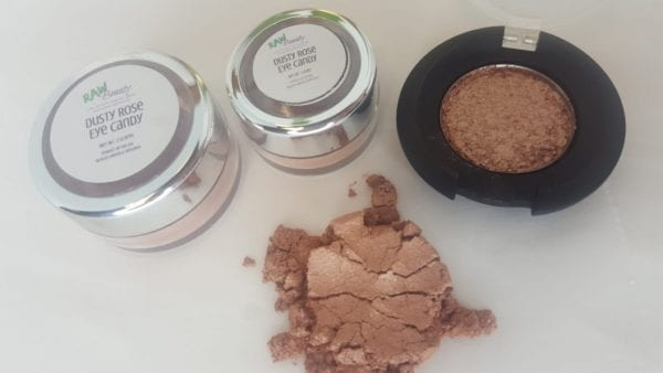 Dusty Rose Mineral Eye Makeup | Raw Beauty Minerals 5