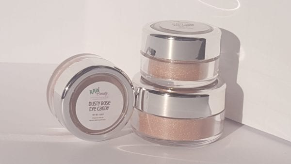 Dusty Rose Mineral Eye Makeup | Raw Beauty Minerals 3