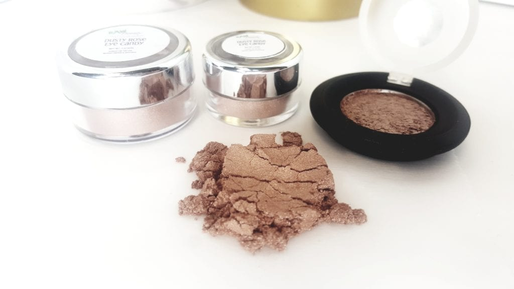 Dusty Rose Mineral Eye Makeup