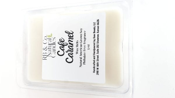 Cafe Caramel | Natural Soy Candle | Hand-Poured and Hand-Crafted 4