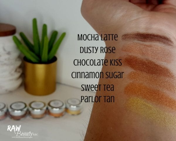 Dusty Rose Mineral Eye Makeup | Raw Beauty Minerals 4