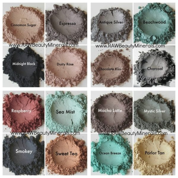 Dusty Rose Mineral Eye Makeup | Raw Beauty Minerals 8