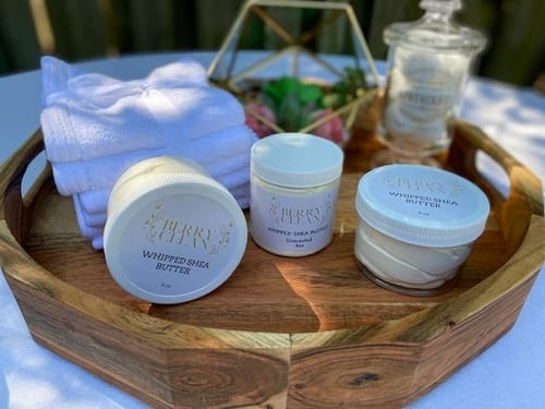 Berry Clean Organic Whipped Shea Butter 1