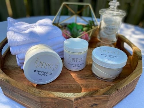 Berry Clean Organic Whipped Shea Butter 2