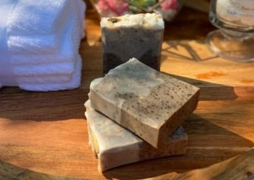 Exfoliating Coffee Scrub Soap 4