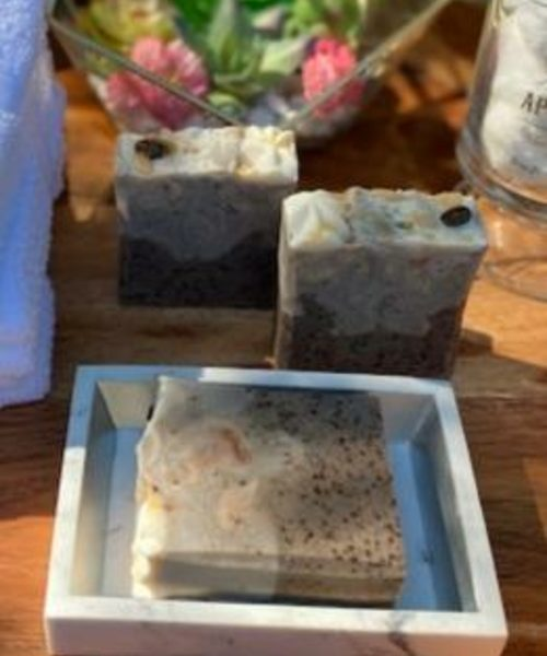 Exfoliating Coffee Scrub Soap
