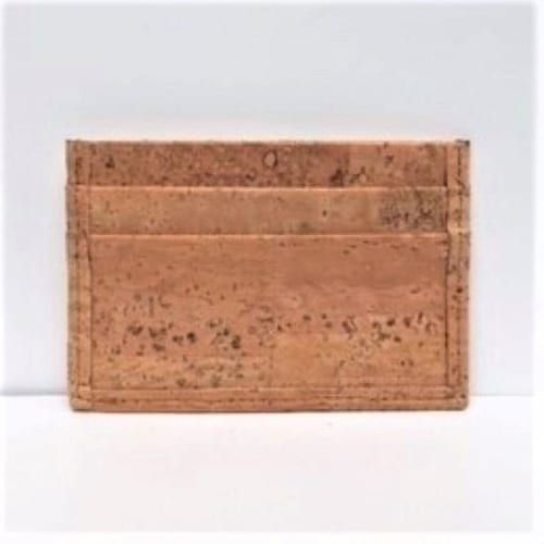 Natural Cork Card Case