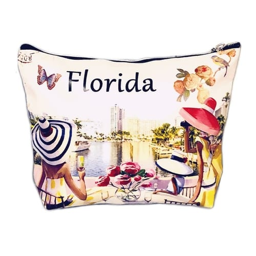 Fashion Cosmetic Bag Luxurious Florida