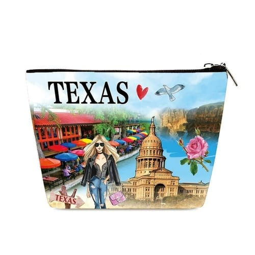 Fashion Cosmetic Bag Ranger of Texas