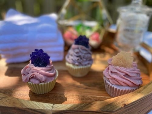 Berry Clean Waffle Cupcake Soap 2