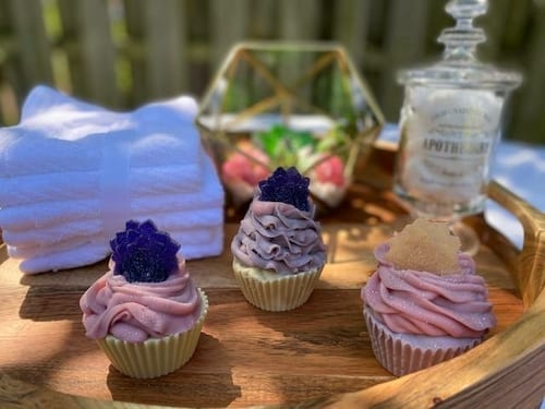 Berry Clean Waffle Cupcake Soap 5