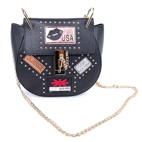 Fashion Handbag USA Nights Black