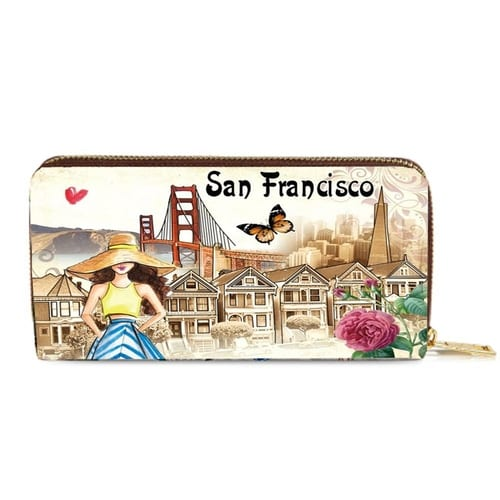 Fashion Wallet Beautiful San Francisco